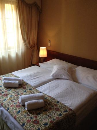 Antik: Betten waren sehr bequem - wenn auch nur zusammengeschoben