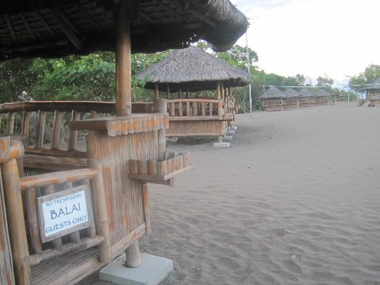 ‪‪Balai sa San Juan‬: Beach cottages‬