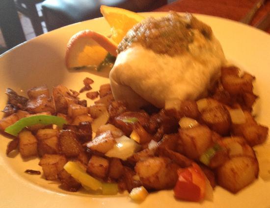 White House Restaurant: Breakfast Burrito