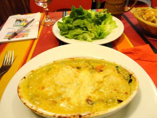 Restaurant Ou Pastre : Cassolette de poisson