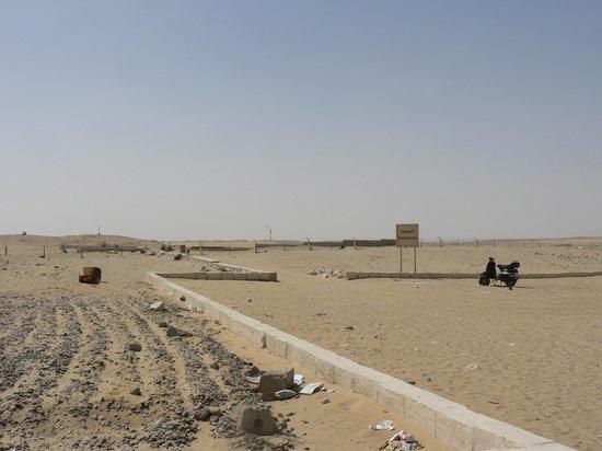 Saqqara, מצרים: serapium closed