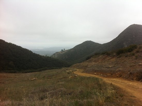 Ojai, Kalifornia: Pratt and firebreak trails