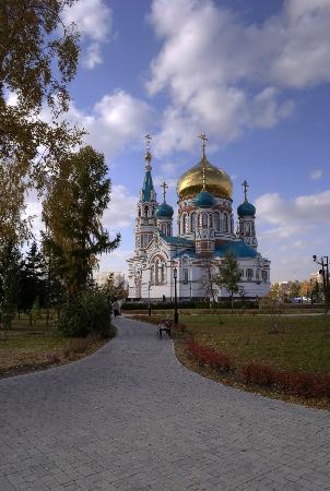 Assumption Cathedral (Uspenskij sobor) : Омский Успенский собор