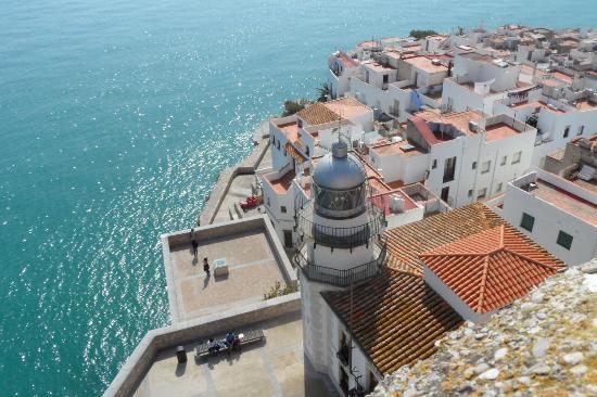 Luz de Azahar: View from the castle