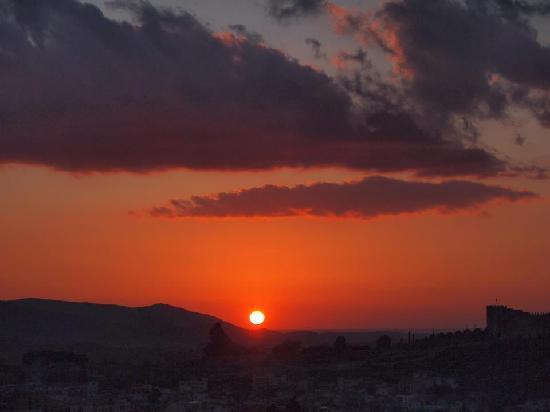 Villa Panaroma: sunset