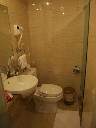 Rising Dragon Villa Hotel: Superior room toilet