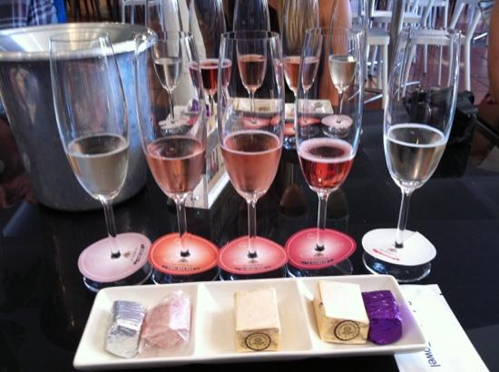 House of J.C. Le Roux: Delicious - sparkling wine and nougat tasting