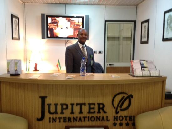 Very Friendly Welcome At Airport Desk Picture Of Jupiter
