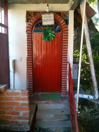 Front door, Casa Vortex