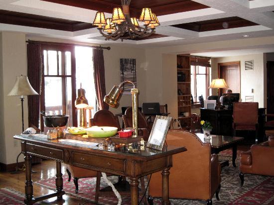 The Ritz-Carlton, Bachelor Gulch: Conciergelevel lounge