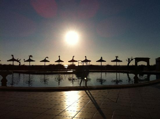 Universal Hotel Don Leon: Schöne Sonnenuntergänge