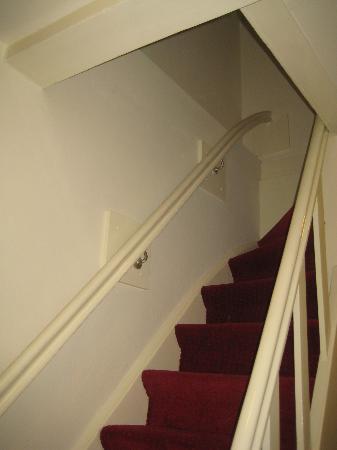 Hegra Hotel: Las dichosas escaleras