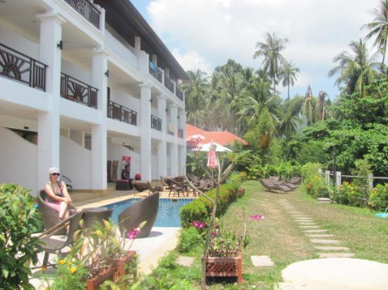 Lamai Beach Residence: Hotel Exterior