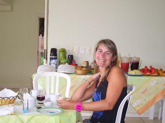 Pousada Porto Girassol: desayuno