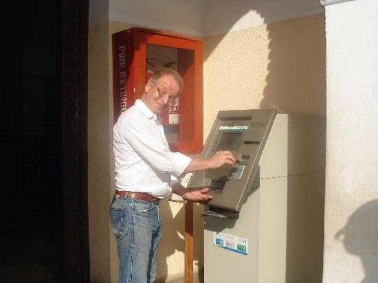 National Museum: First ATM machine in Tanzania!!!!