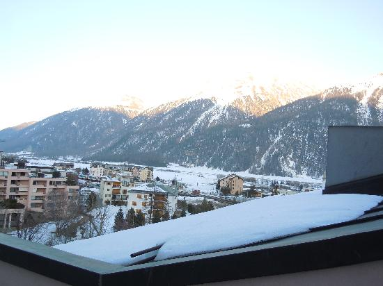 Hotel Bernina 1865: View from our balcony