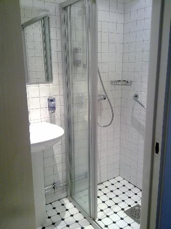 Comfort Hotel City Center: shower