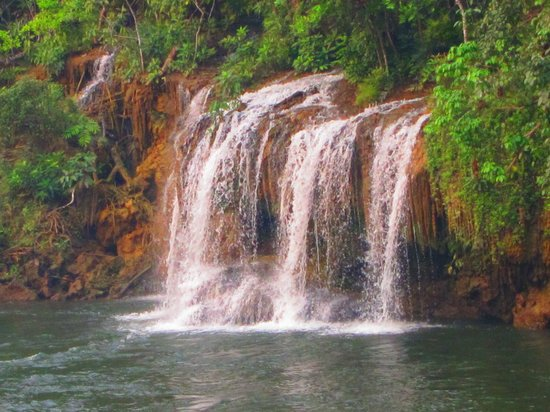 Провинция Канчанабури, Таиланд: Waterfall on the River Kwai