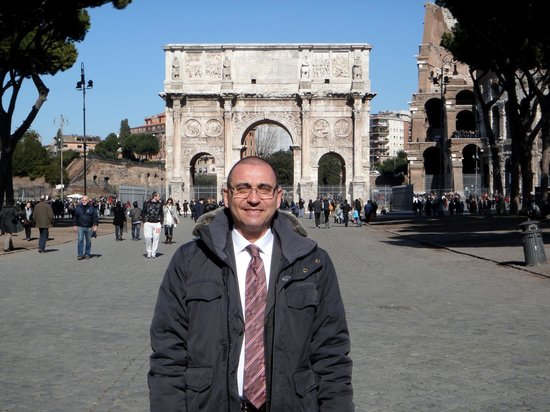 Jimmy Tour - Rome Private Tour : My guide and teacher, Marco Vicaro.