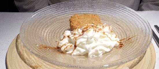 Restaurante Fornello : glace vanille aux amendes