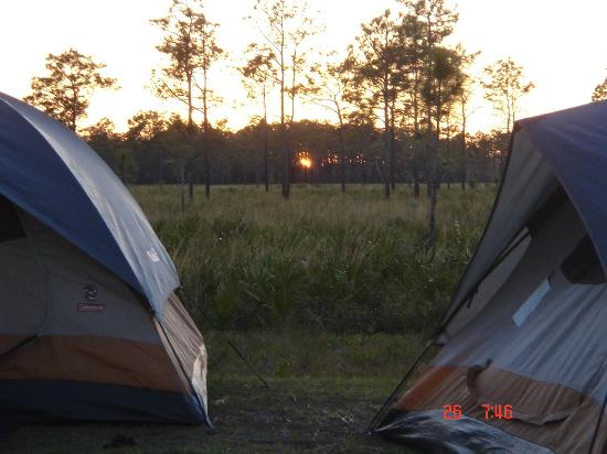Nature Speaks horseback camping adventure at Forever Florida