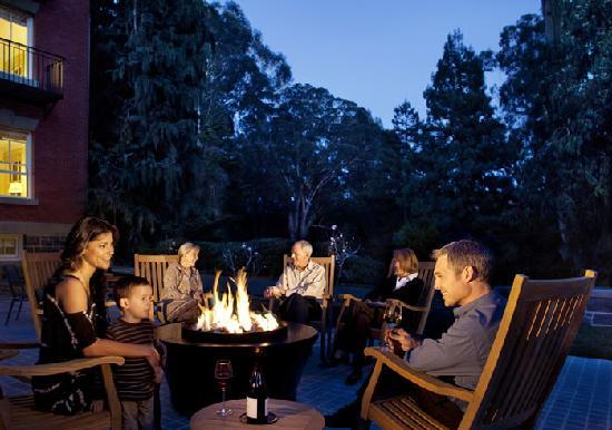 Inn at the Presidio: Our Fire Pit and Patio
