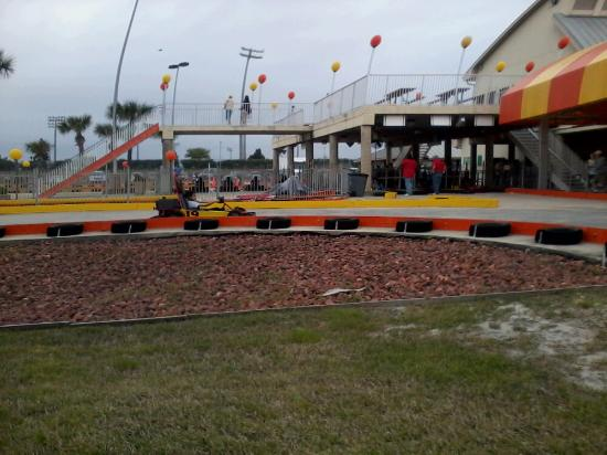 The Track: racing go-carts