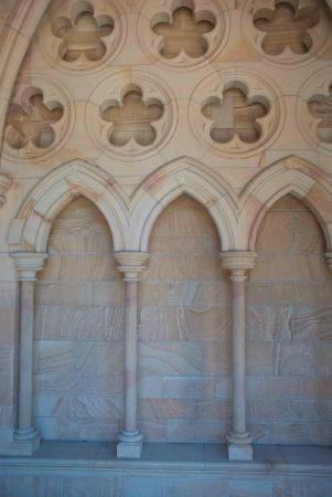 St. John's Anglican Cathedral: Stonework at St. John's