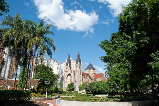 St. John's Anglican Cathedral: A stunning cathedral in Brisbane