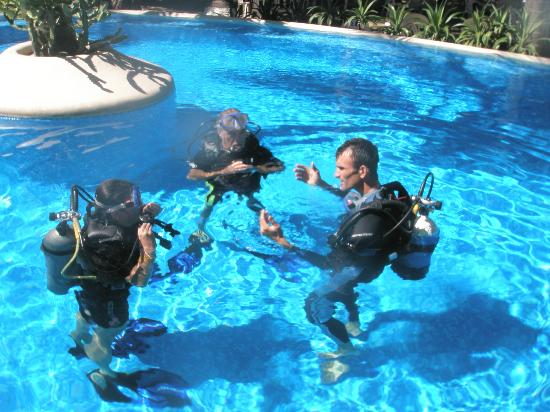 Mero Adventure: diving lessons, clases de buceo,cours de plongée