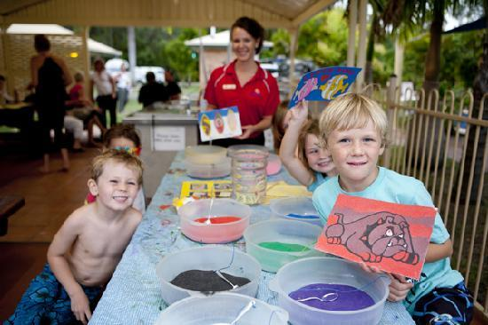 Discovery Parks - Fraser Coast: Kids Club activities