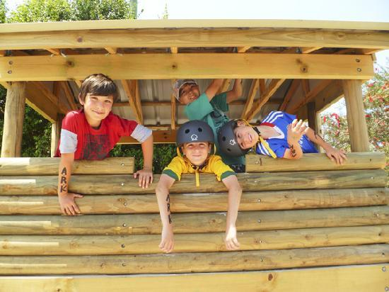 Fraser Lodge Holiday Park: Kids fun