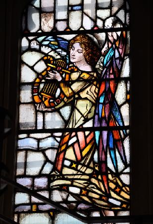 Montreal, Canada: One of the many stained glass windows
