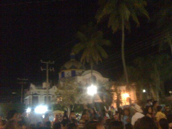 Plaza principal de Tamazunchale