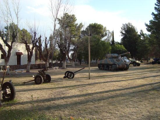 San Rafael, Argentina: Exposición de vehículos militares