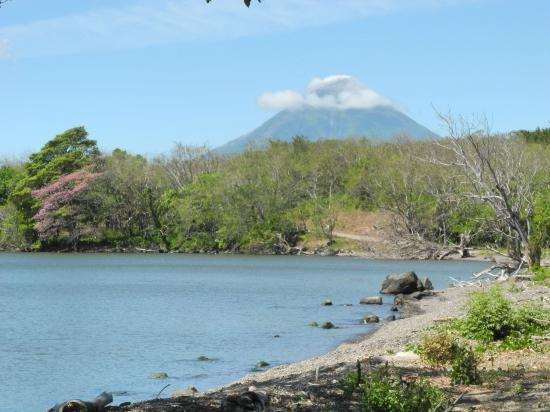 Finca Mystica: View of Conception volcano from San Ramon