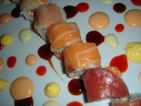 Great Bay Lounge : fantastic Sushi