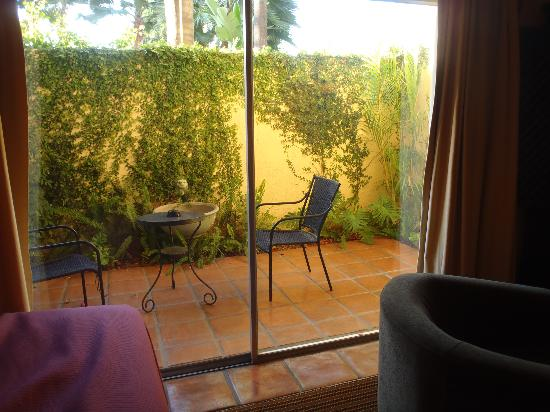 Hotel Pepper Tree: patio