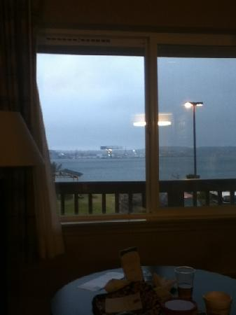 Comfort Inn On the Bay: view out window