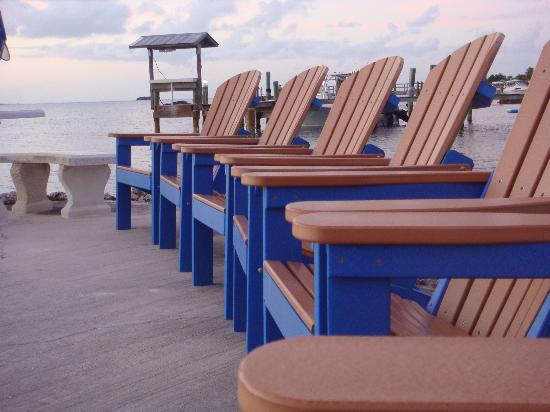 Island Bay Resort : front row for sunset