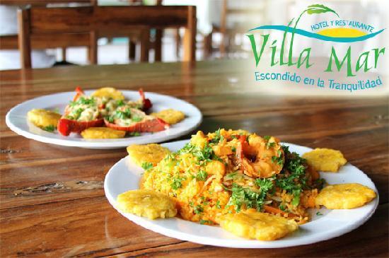 Hostal Villa Mar: Deliciosa comida