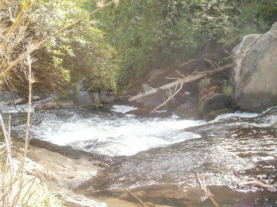 Cascada Escondida: Despues de la caminata  . .