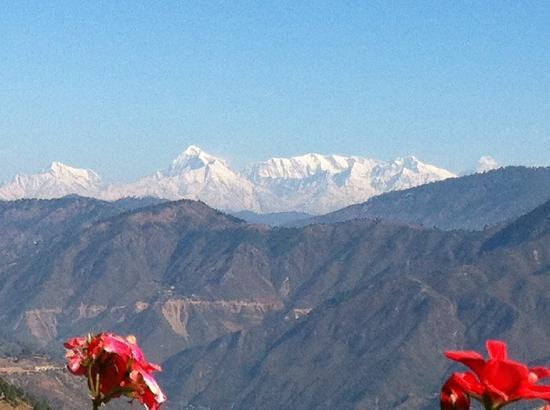 Junoon in the Hills: Nanda Devi and Trishul from the front deck