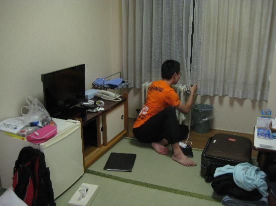 Hotel Hashimoto: Flat screen TV, Mini fridge, heater