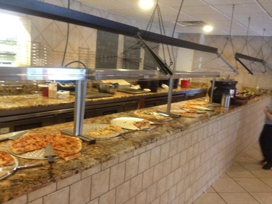 Fire & Stone: pizza bar, yes it's real