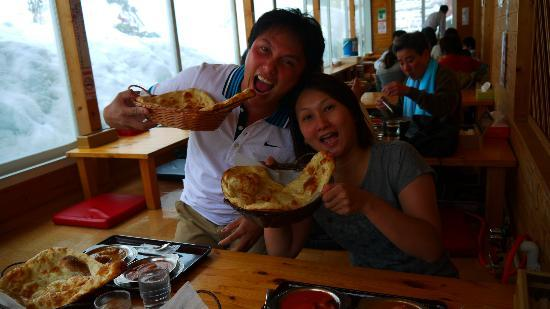 Hoheikyo Onsen: curry lunch