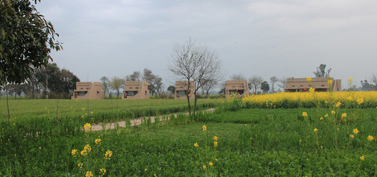 Gurdaspur District, Índia: View of the cottages