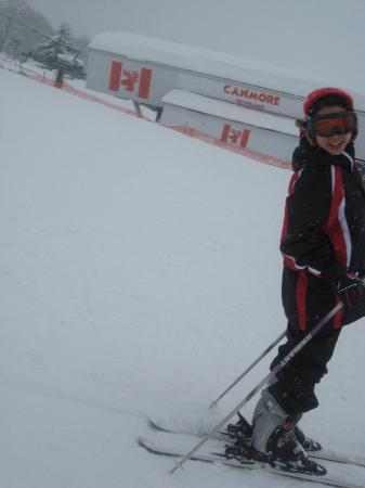 Canmore Ski Village: small slope (ski)