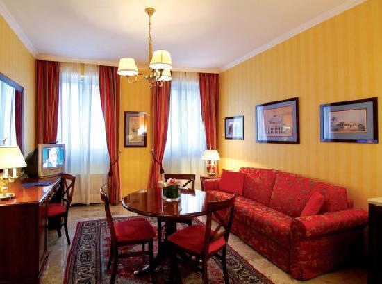 ATAHOTEL Class Residence: Salotto Appartamento Bilocale