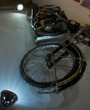 Vapriikin Museokeskus: Bikers exhibition - ice rider